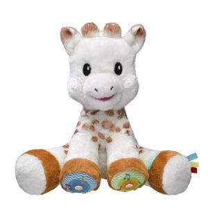 230806 Touch and play music plush Sophie la girafe small