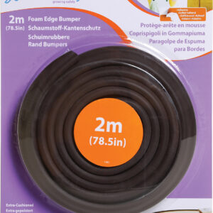 20200227115037 dreambaby foam edge bumper brown 2m