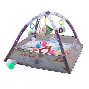 Playmat with 18 Balls Grey Forest 600x600 1